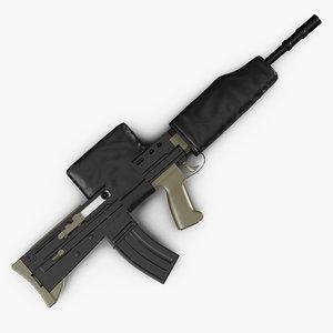 3D rifle l85a2 scope cover