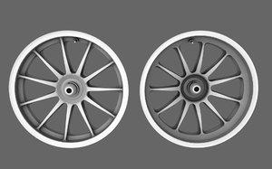3D generic standard rim model