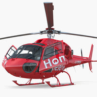 3D homeserve helicopter eurocopter as-355n
