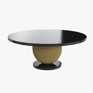 tarvos dining table sofa chair 3D