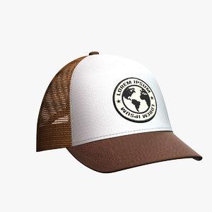 baseball hat 14 3D