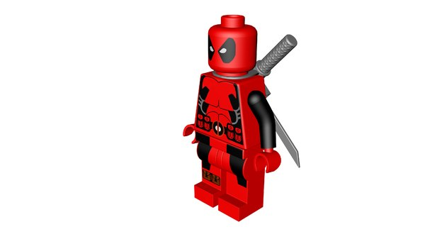 lego superhero model