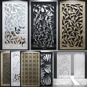 lattice decorative 3D model