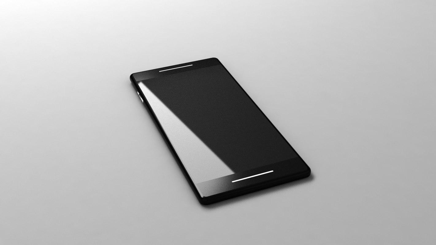 3D phone model
