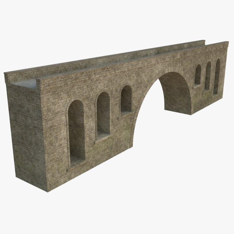 stone bridge model