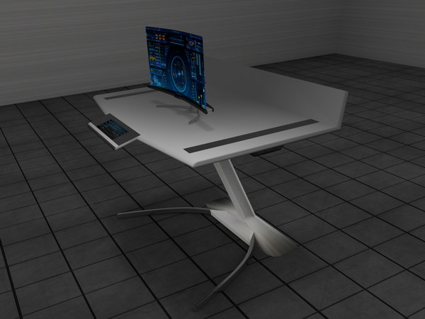new concep table 3D model