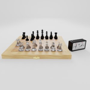 3D model ches chess