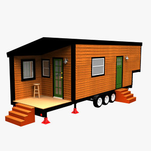 3D tiny house model