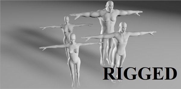 character rigged model