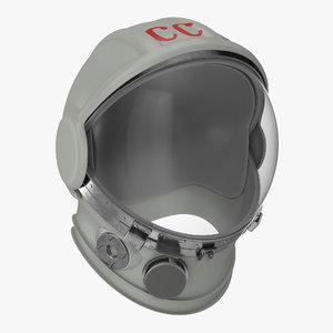 yuri gagarins space helmet model