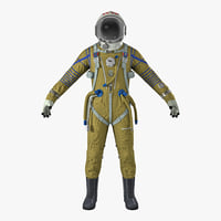 USSR Space Suit Strizh with SK-1 Helmet