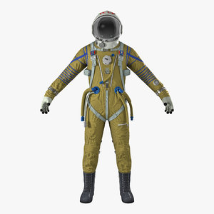 ussr space suit strizh 3D