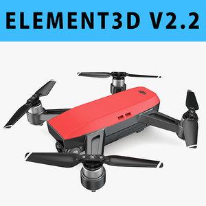 3D 2 - 1 e3d model