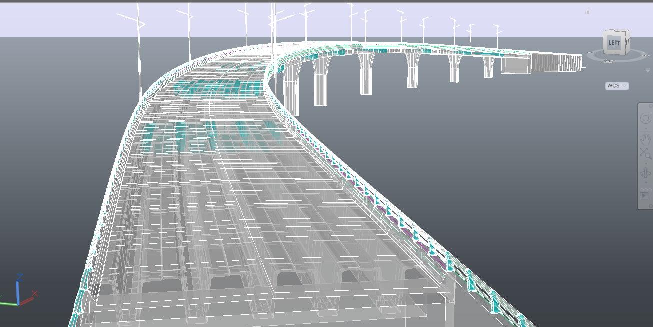 bridge lighting 3D