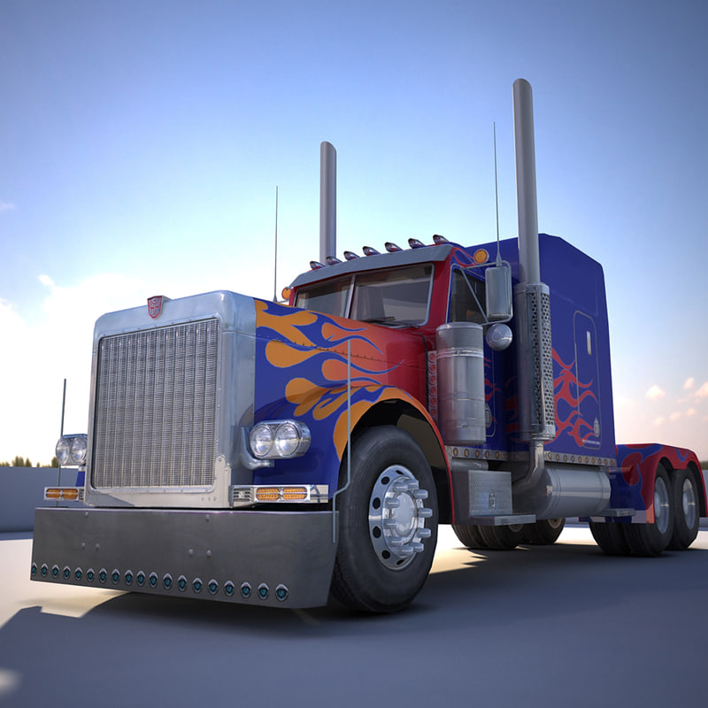 transformers optimus prime truck model