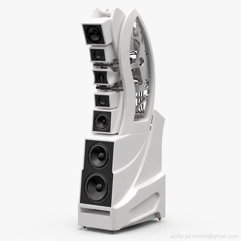 floorstanding wilson wamm master 3D model