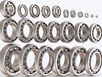 3D model bearings