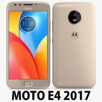 motorola moto e4 usa 3D model