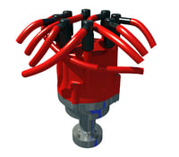 engine distributor 3D