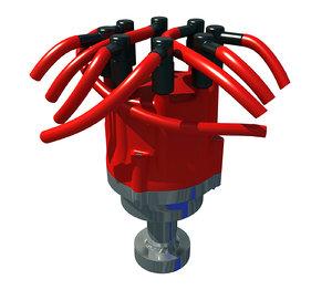 engine distributor 3D