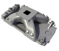intake manifold 3D model