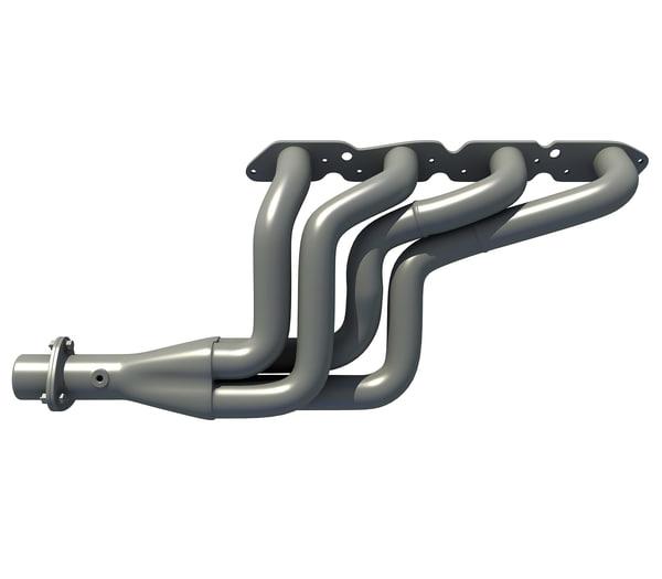 engine exhaust manifolds 3D