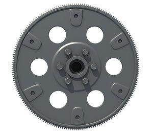 engine flywheel model
