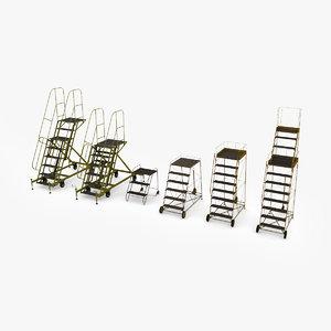 airfield ladders 3D model
