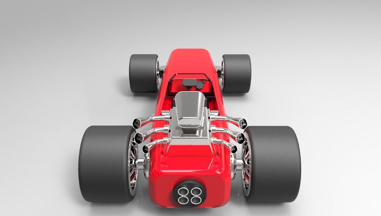 car proto 3D model