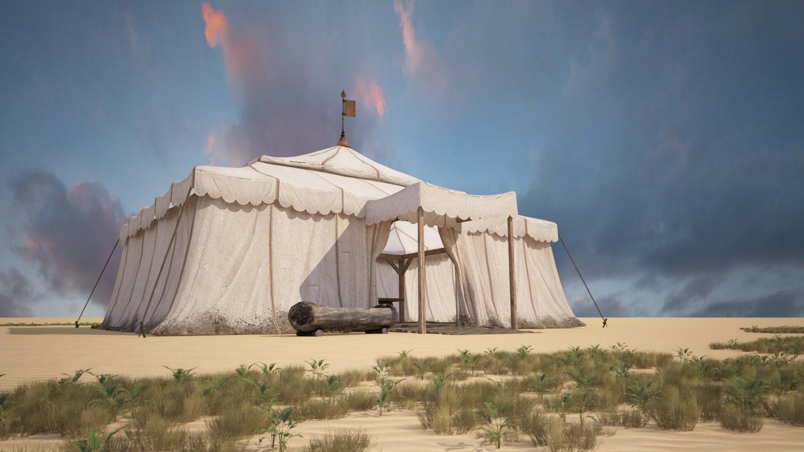 large tent nomadic model