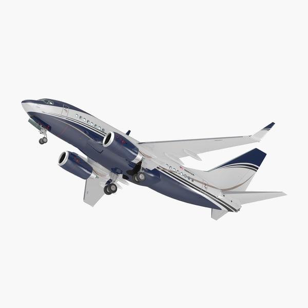 3D boeing interior generic 737-600
