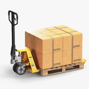 hand pallet truck boxes model