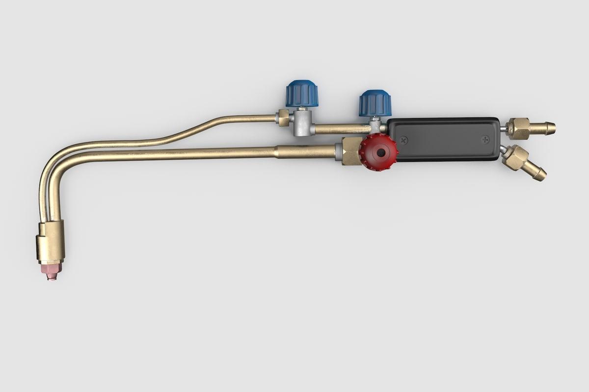 3D cutting torch model