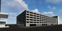 3D model garage revit architecture
