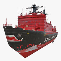 Nuclear Powered Icebreaker Yamal