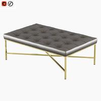 pouffe home furniture 2044 3D model
