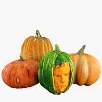 pumpkins 3D