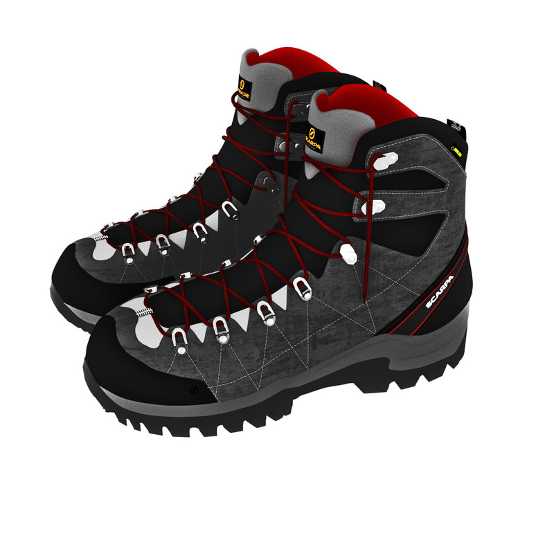 3D boot r-evolution gtx scarpas model