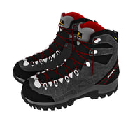 3D boot r-evolution gtx scarpas model