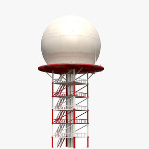 3D airport dome radar