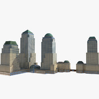 brookfield place 3D model
