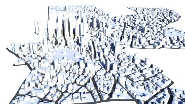 cityscape city 3D model
