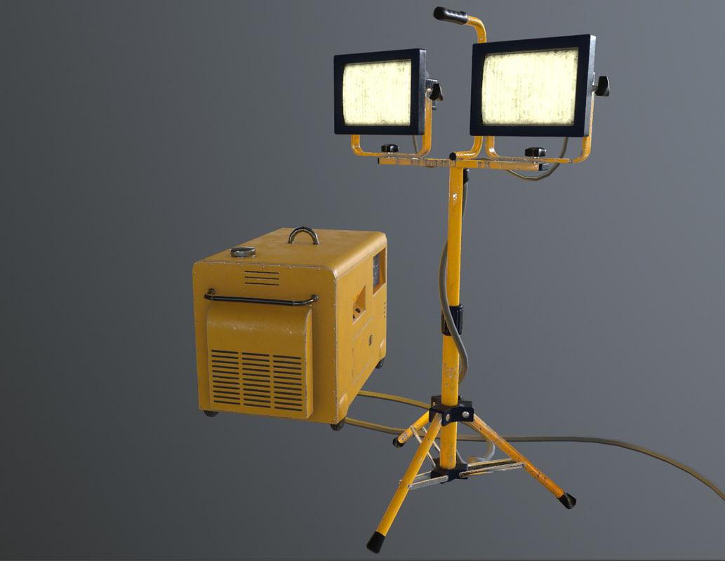 3D generator lamp source