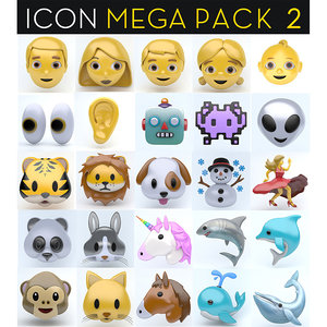 icon megapack 2 3D