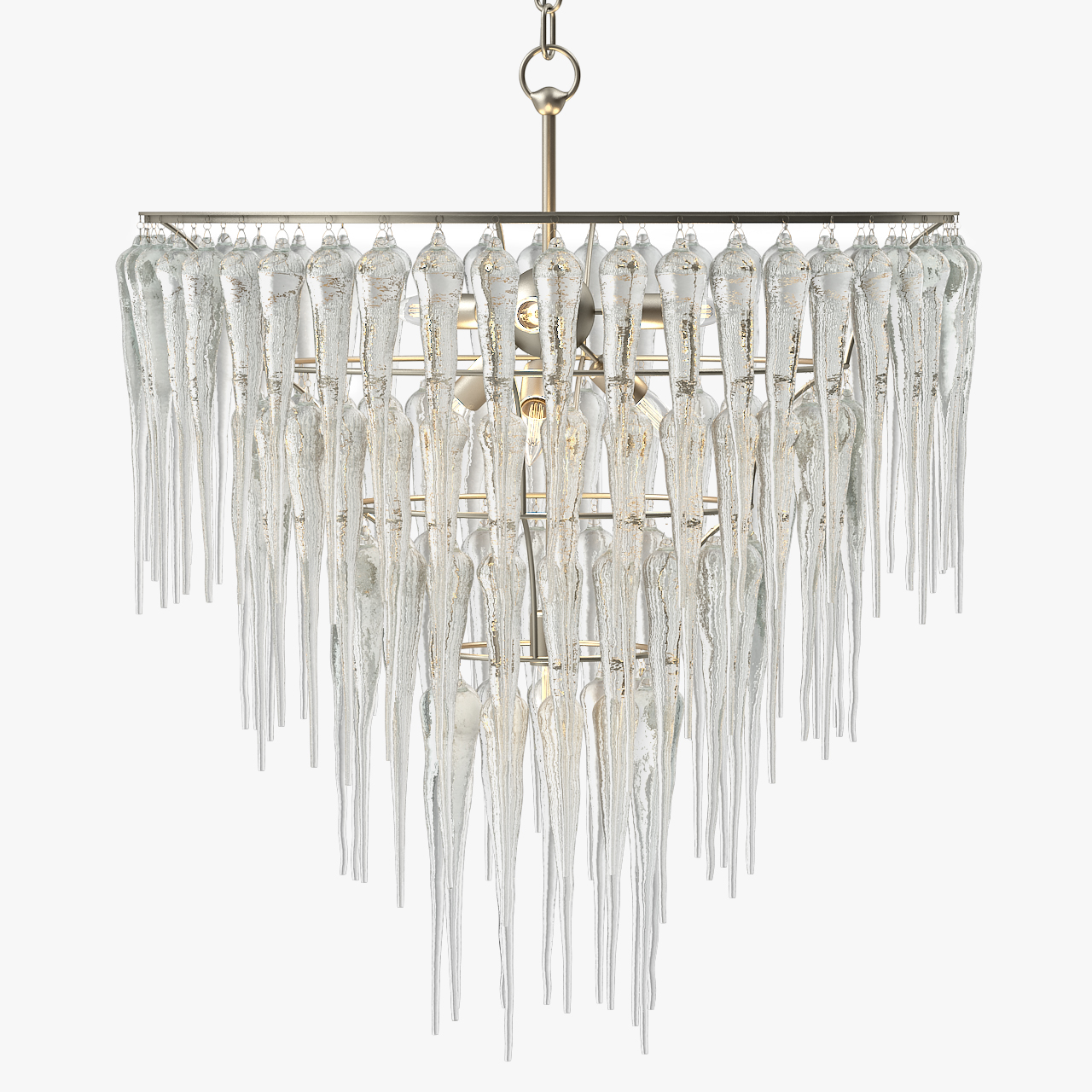 Currey And Company Icecap Chandelier