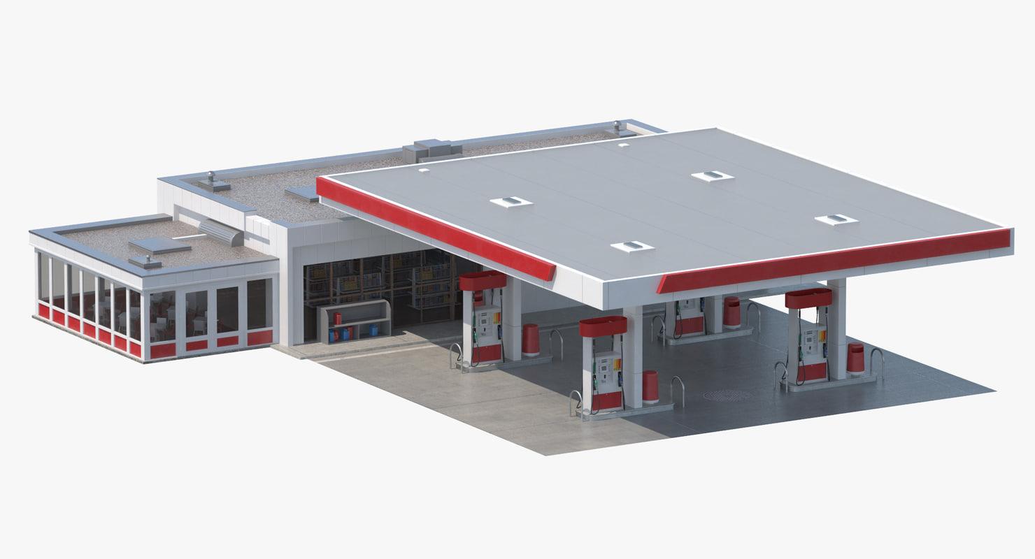 petro station 3D