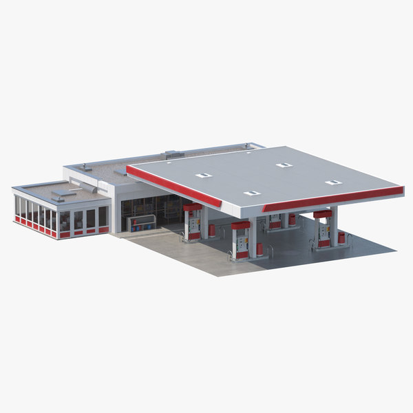 petro station 3D