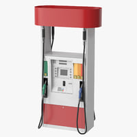 Petrol Station Pump - Gas Column