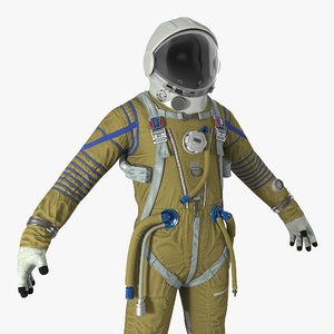 3D space suit strizh sk-1
