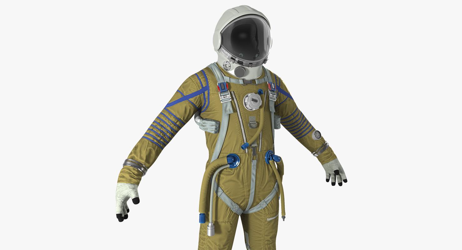 3D space suit strizh sk-1